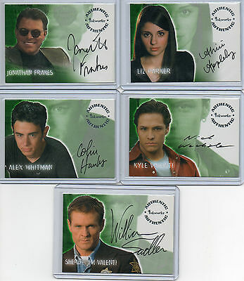 Roswell Season 1 Autograph Card Selection NM Inkworks 2000