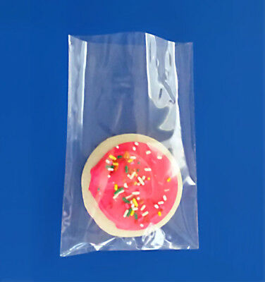 """Cello Bags 500 4x6"""" Clear 1.5 Mil Bopp Polypropylene Food FDA Cookie Candy Treat"""
