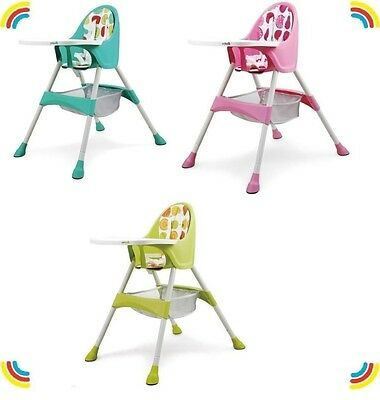 Brand New Baby Feeding High Chair.Safe & Comfortable. 3 Colors To Choose From!!