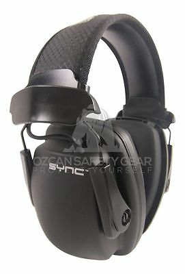 Howard Leight SYNC Stereo Hi-Fi Earmuff Muff w/MP3/iPod Jack Hearing Protection