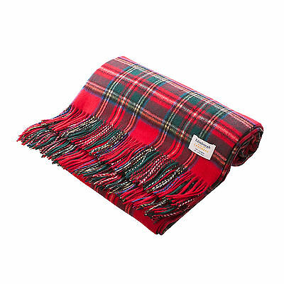 100 % Pure Cashmere Tartan Rug/Blanket, Great Quality! Various Tartans Available