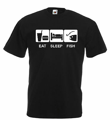 Problem Sorted Go Fishing Angling Funny Mens T Shirt Size S-XXL