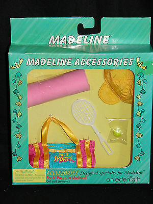 """Madeline 8"""" Doll TENNIS ACCESSORIES NRFB!"""