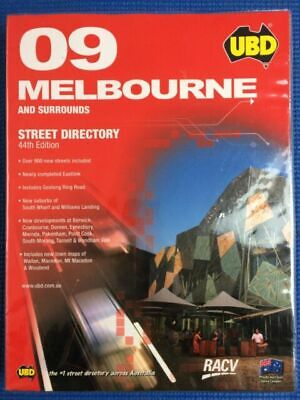 Brand New UBD 2009 Melbourne Street Directory by UBD Paperback, 2008
