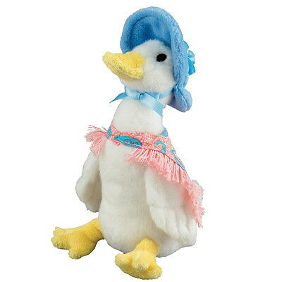 "NEW OFFICIAL GUND Beatrix Potter Jemima Puddle-Duck 5"" Plush Soft Toy A26428"