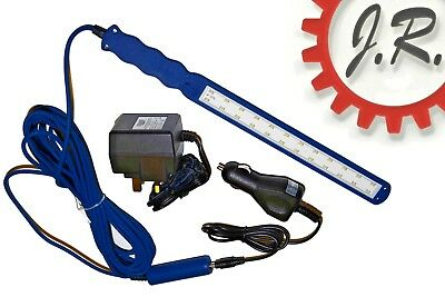 Draper 24 LED 230V AC/12V DC Slimline (6mm) Inspection Lamp -Draper Expert 47557