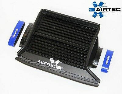 AIRTEC Mini Cooper S R53 Top Mount Intercooler Upgrade Black Finish