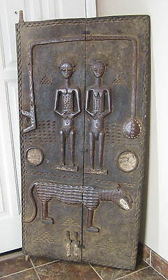 Lg. Interior Door - Baule people, Ivory Coast / Côte d'Ivoire