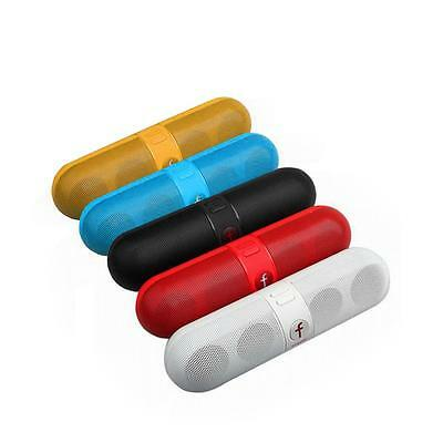 Five Star Pill Capsule Portable Bluetooth Wireless Speaker for Music FM iphone