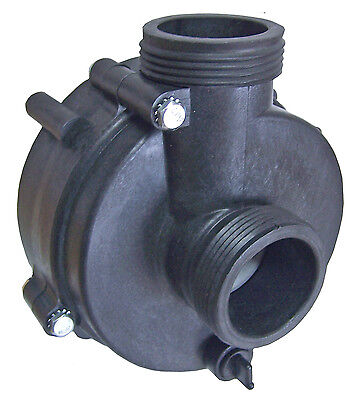 """Softub Pump """"Wet End"""" 1hp, 1 1/2"""" Connections Complete w/ Impeller & Seal"""