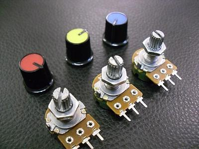 10 Pieces Mixed Pack Potentiometer Pot 1K 2K 5K 10K 20K 50K 100K 250K 500K 1M