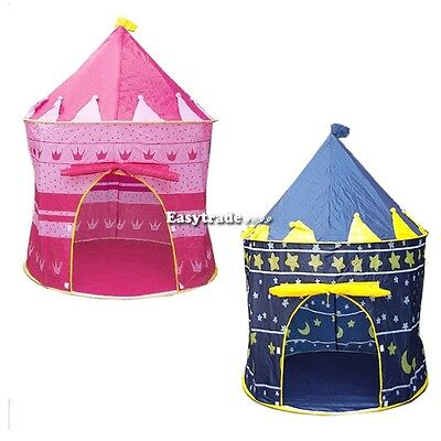Kids Baby Children Toys Portable Princess Tent/House/Hut Play Games 2Colors ESY1