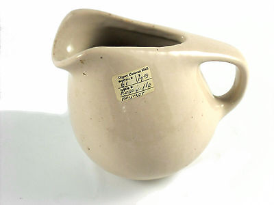Raymor by Roseville Creamer Pitcher #158 Beige Cream  Collectors
