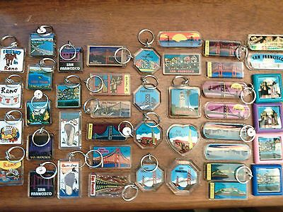 Lot of 10 Choice of 42 Key Chain Magnet Sets souvenirs gift keyring keychains
