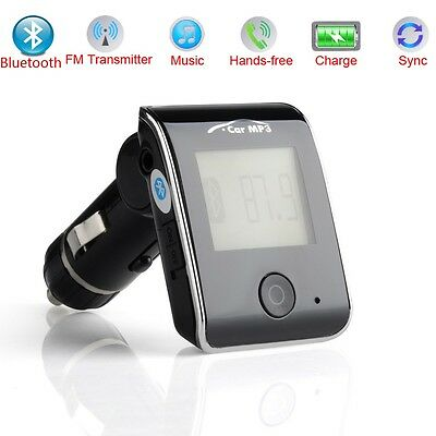 Bluetooth MP3 Player FM Transmitter Car Kit Charger for iPhone3GS 4 4S 5 5C 5S 6