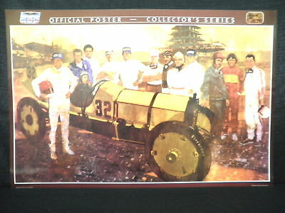 Indianapolis 500 1911-1986 75th Anniversary Poster