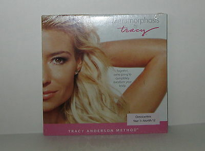 New 1 Metamorphosis by Tracy Anderson Omnicentric Year 1 Month 12, DVD Sealed