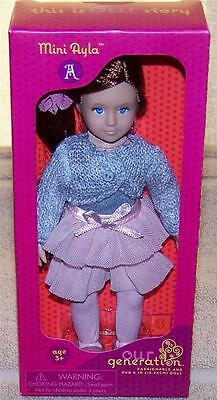 """Our Generation RYLA 7"""" Mini Doll Red Hair Blue Eyes New"""