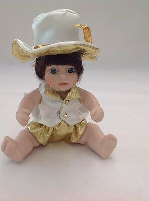 """Effanbee Porcelain Collectible Doll, A Chorus Line, 6"""""""