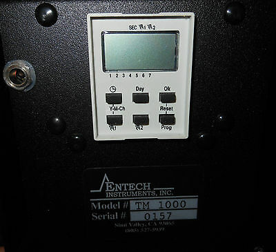 Entech Instruments Weekly Timer  Module 01-39-TM1000, TM1000