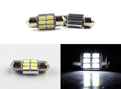 4 x 31mm 6 SMD Festoon 5630 LED Car Interior Dome Map Light Bulb Globe Canbus OZ