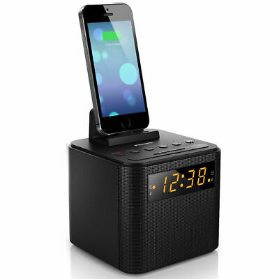 Philips AJ3200 FM Radio USB Charger Docking Station for Micro/Galaxy & iPhone*