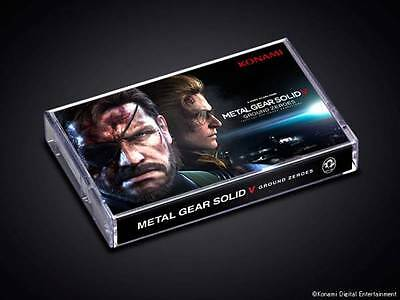 Metal Gear Solid V Konami style Limited smartphone stand &Notepad