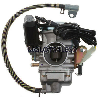 Keihin 24Mm Carburetor Carb For Gy6 125Cc 150Cc Atv Go Kart Scooter Moped Quad