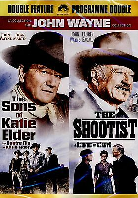 The Sons of Katie Elder & The Shootist(NEW 2DVD SET)   JOHN WAYNE,  DEAN MARTIN,