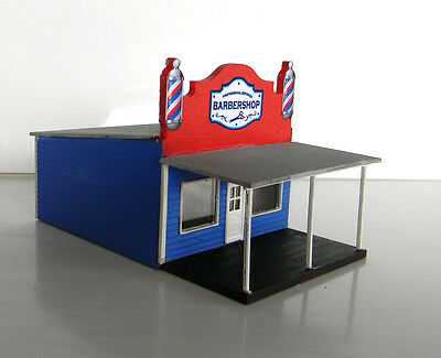 HO scale building  Barbers shop