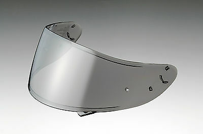 Shoei Genuine CWR-1 Chrome Iridium Silver Spectra Visor for NXR RF1200 Helmets