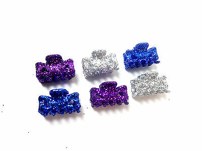 Wholesale Job Lot Colorful Glittery Hair Clips Brand New Stunning Unique (Uw1)