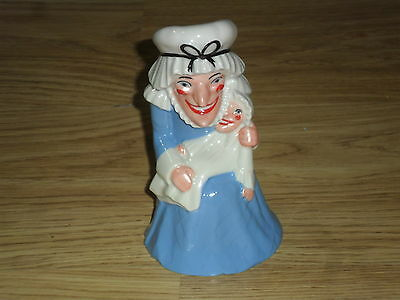 VINTAGE WADE FIGURE JUDY from PUNCH & JUDY & SIGNED CERT, LTD EDITION 2000,