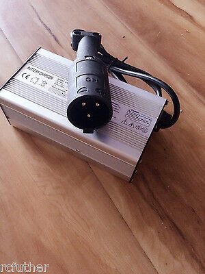 NEW 48Volt EzGo Golf Cart Battery Charger 6A Clubcar round style connector