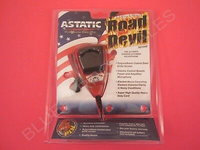 Astatic RD104E-4B Road Devil Amplified Noise Canceling CB Radio Microphone