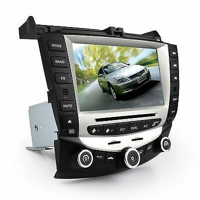 "8"" Car GPS Navigation In-dash Stereo Radio IPOD RDS DVD For 03-07 Honda Accord"