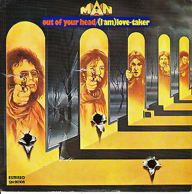 """7"""" MAN out of your head (I'm a) love taker SPANISH 1976 prog ROCK"""