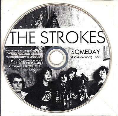 CD SINGLE promo THE STROKES someday SPANISH rare 2002