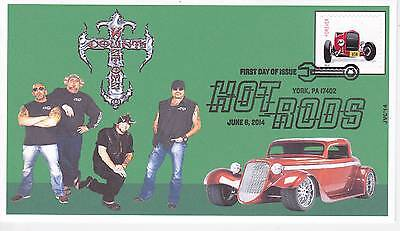 Jvc Cachets - 2014 One-Of-A-Kind Counts Cars Hot Rod Issue First Day Cover  #2