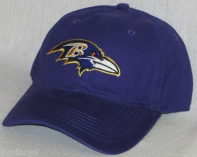 Baltimore Ravens Polo Style Cap ~HAT ~CLASSIC NFL PATCH/LOGO - COOL PURPLE ~NEW