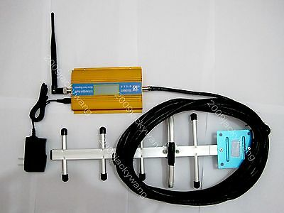 NEW  LCD  display 3G CDMA GSM850Mhz phone signal booster repeater kit for home