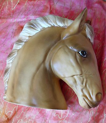 vintage Horse Head planter NAPCO National Pottery Co Cleveland OH
