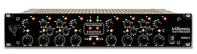 Millennia Media NSEQ-2 Dual Channel Tube & Solid State 4 Band Parametric EQ, NEW