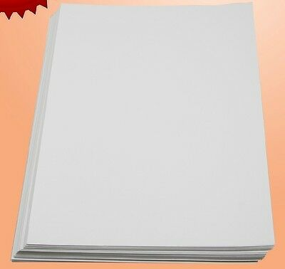 50 Sheet Silicone Parchment Paper Opaque Dark Heat Transfer Isolation Paper