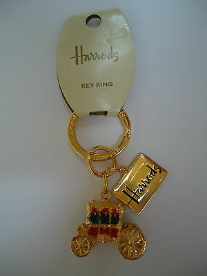 THE ROYAL BABY 2013 HARRODS CARRIAGE KEYRING WILLIAM KATE CATHERINE MIDDLETON