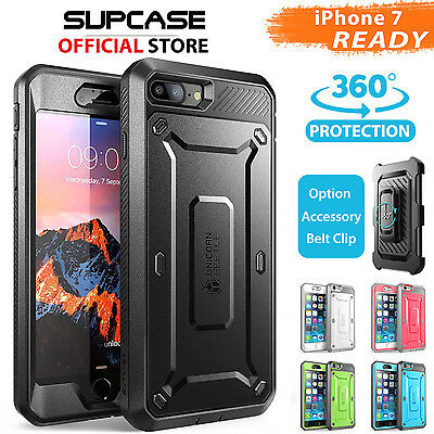 iPhone 8/7, 7/8 Plus, 6S/6 Case Cover,Genuine SUPCASE Heavy Duty Case For Apple