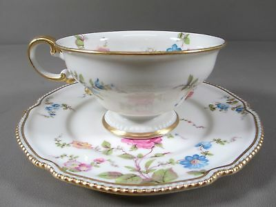 Reduced! Castleton-USA China SUNNYVALE Footed Cup and Saucer Set