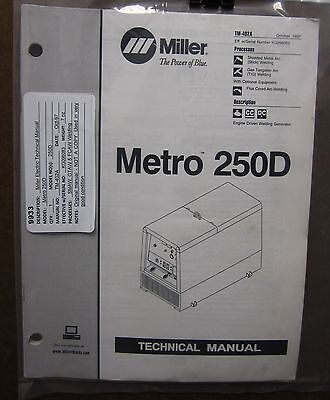 Miller Electric Technical Manual TM-402A Metro 250D