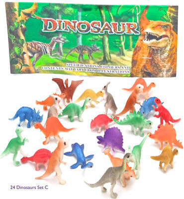 12 PLASTIC DINOSAUR Figurine Animal Figurines Kids Toy 4
