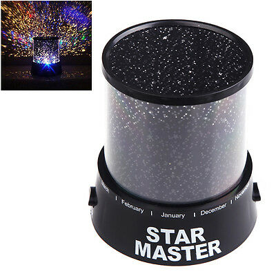 New Amazing Romantic Sky Star Master Starry Night Light Projector Lamp